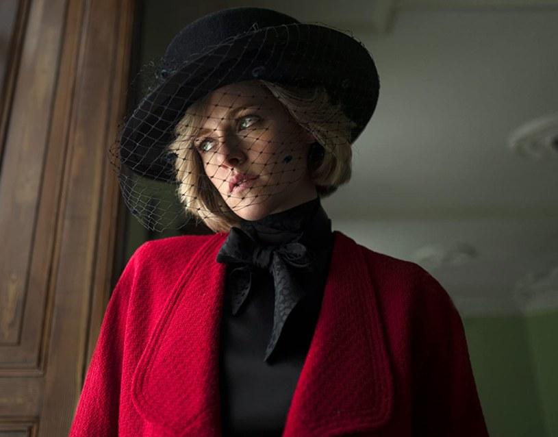 """Kristen Stewart jako Lady Diana w filmie """"Spencer"""" /materiały prasowe"""