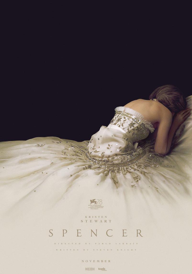 "Kristen Stewart na plakacie filmu ""Spencer"" /materiały prasowe"