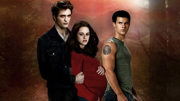 Kristen Stewart, Robert Pattinson i Taylor Lautner na plakacie promującym film Billa Condona /materiały prasowe