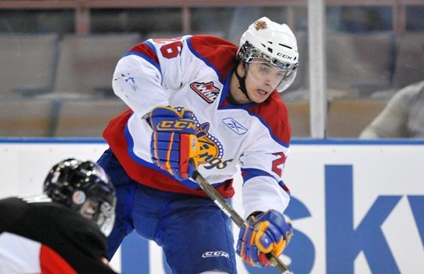 Kristians Pelss był nadzieją Edmonton Oilers. /AFP