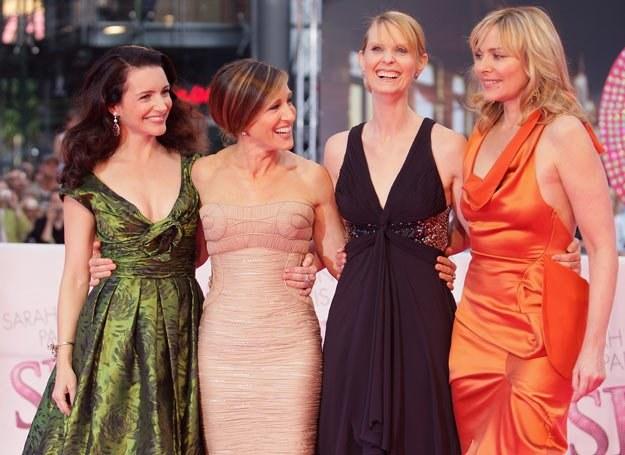 Kristin Davis, Sarah Jessica Parker, Cynthia Nixon i Kim Catrall /Interia.tv