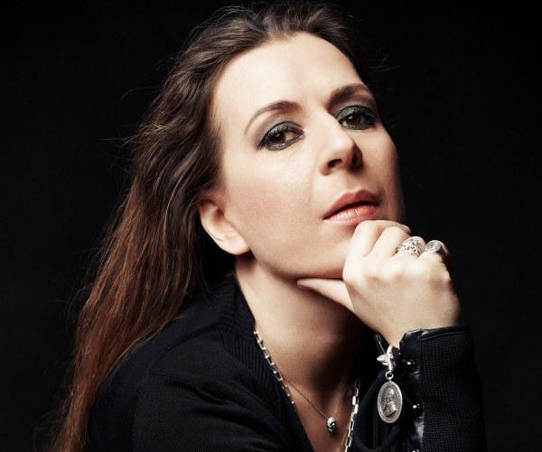 """Kristina Sabaliauskaitė, autorka powieści """"Silva rerum II"""", fot. Rokas Darulis /Wydawnictwo Literackie"""