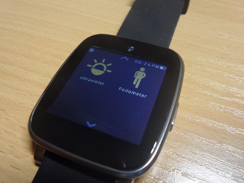 Krokomierz i tajemnicza funkcja ultrafiolet - to jedne z aplikacji zainstalowanych domyślnie na urządzeniu /Samsung Galaxy S5 K Zoom /INTERIA.PL