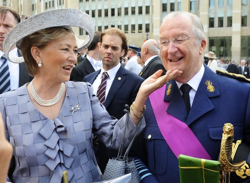 Król Albert II /AFP