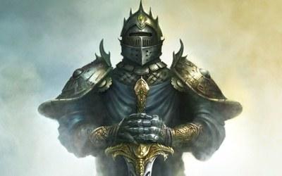 Król Artur - fragment okładki z gry /Informacja prasowa