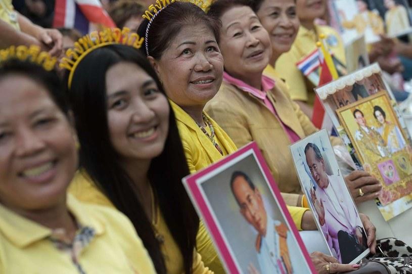 Król cieszy się olbrzymim autorytetem wśród poddanych /AFP