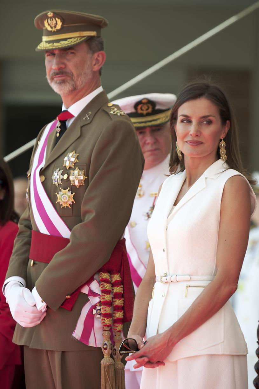 Król Filip VI i królowa Letycja /Carlos Alvarez /Getty Images