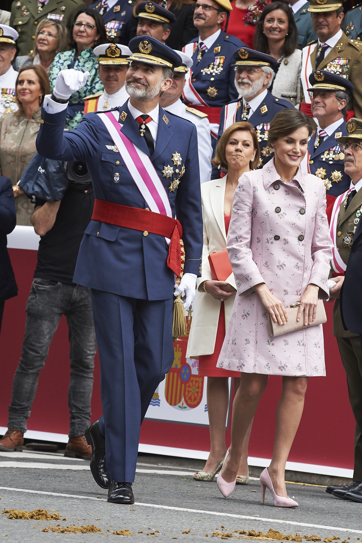Król Filip VI i królowa Letycja /ZUMA /East News
