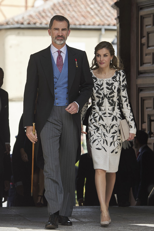 Król Filip VI z żoną Letizią /Carlos Alvarez /Getty Images