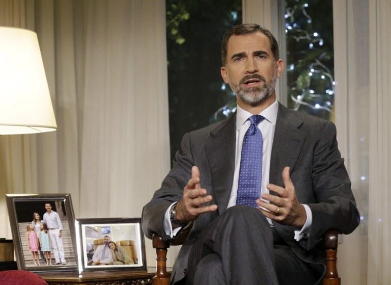 Król Filip VI /AFP