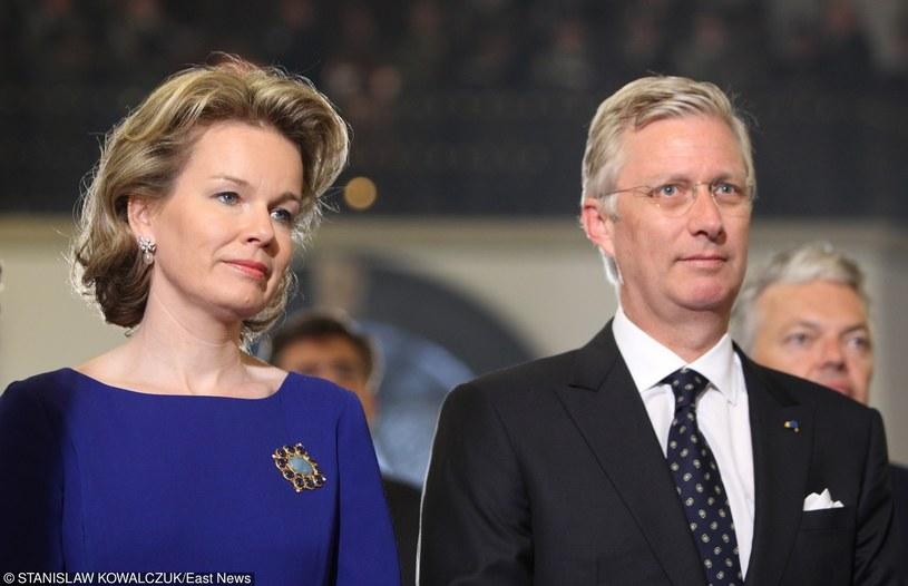 Król Filip z żoną /STANISLAW KOWALCZUK /East News