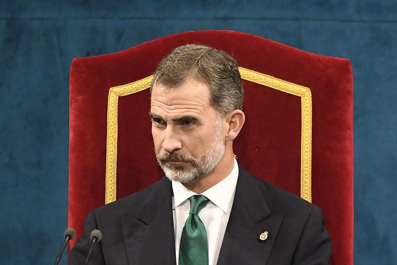 Król Hiszpanii Filip VI /MIGUEL RIOPA /AFP