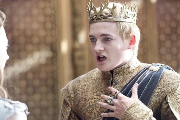 Król Joffrey /materiały prasowe