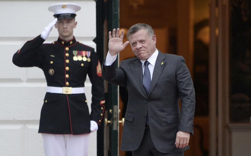 Król Jordanii - Abdullah II /AFP