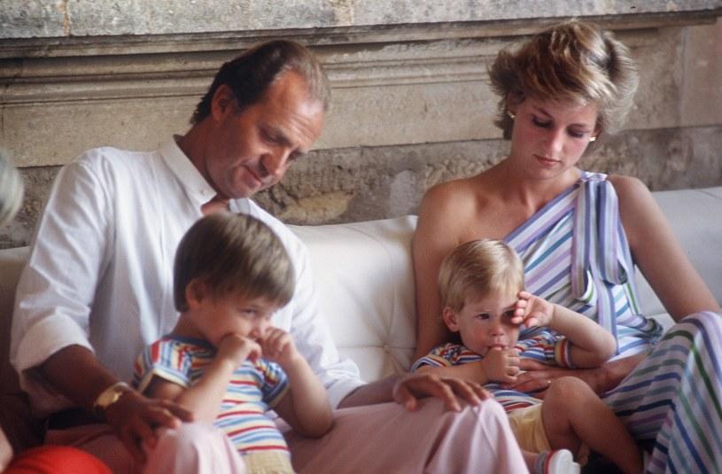Król Juan Carlos i księżna Diana /AFP /East News