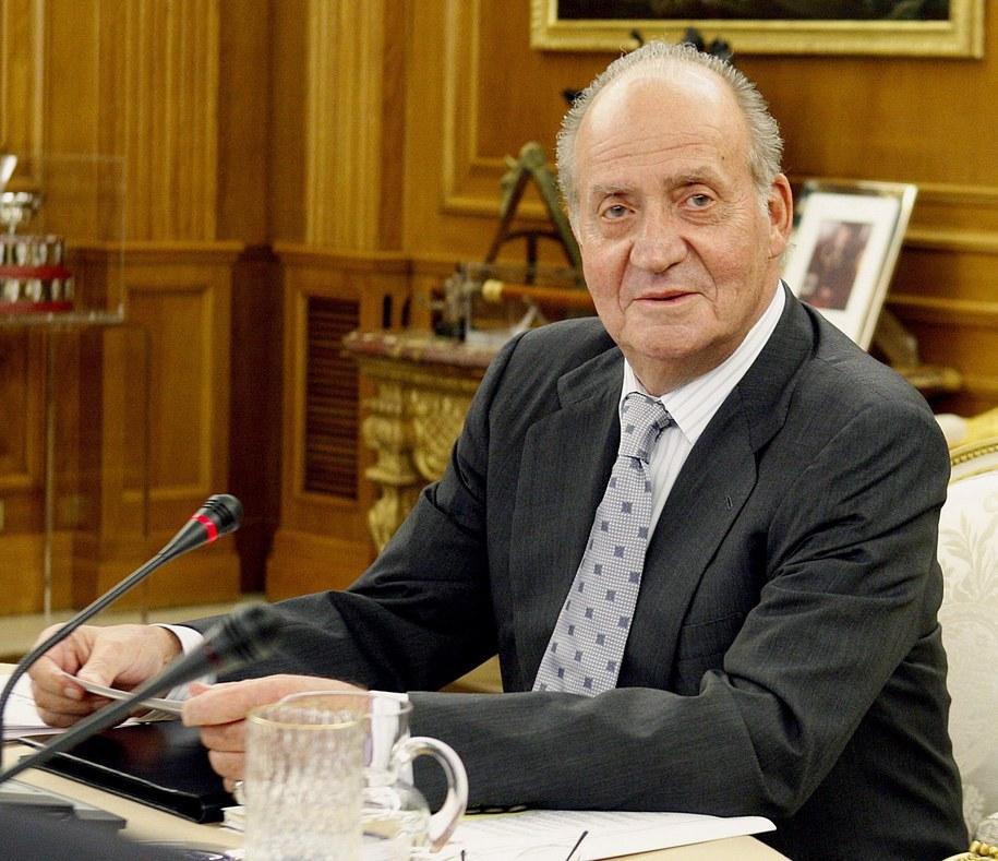 Król Juan Carlos /MANUEL H. DE LEON /PAP/EPA