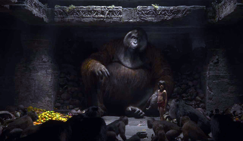 Król Louie - wygląd King Konga, głos Christophera Walkena /materiały prasowe