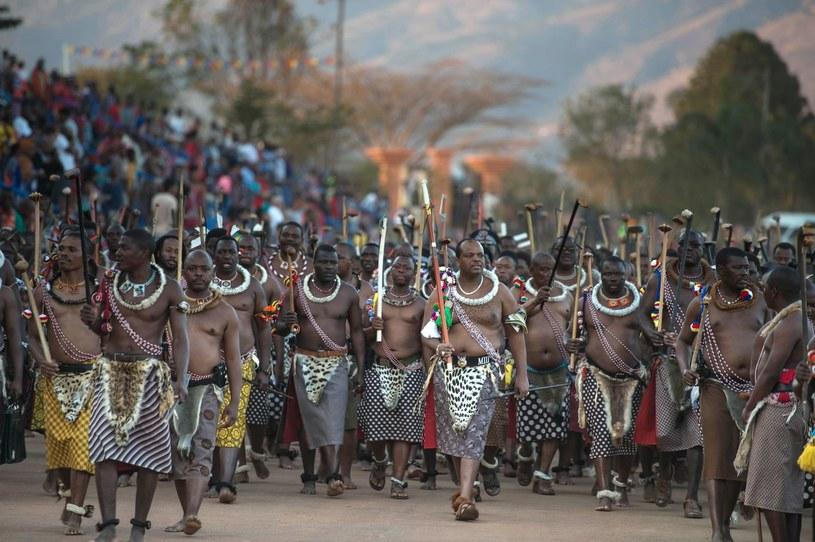 Król Mswati III /AFP