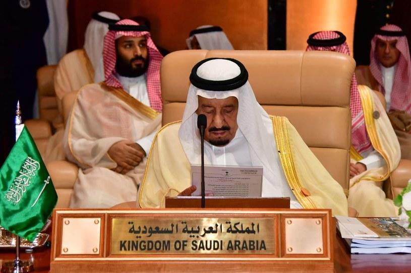 Król Salman /AFP