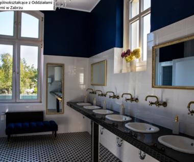 Królewska łazienka w polskiej szkole. W Zabrzu postawili na luksus