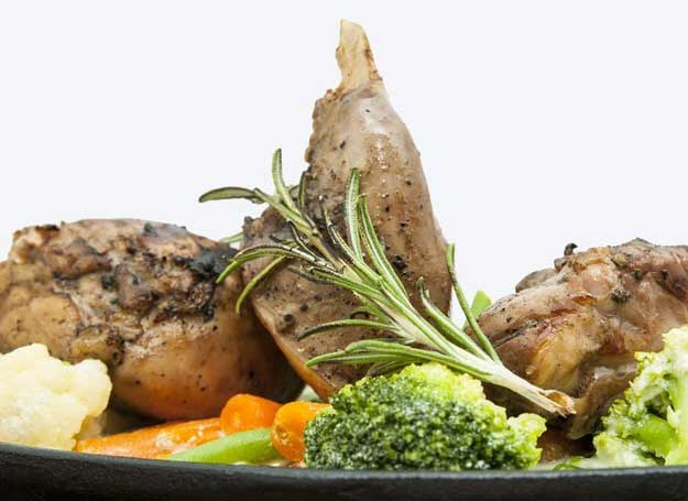 Dieta Bezglutenowa Królik W śmietanie Z Warzywami