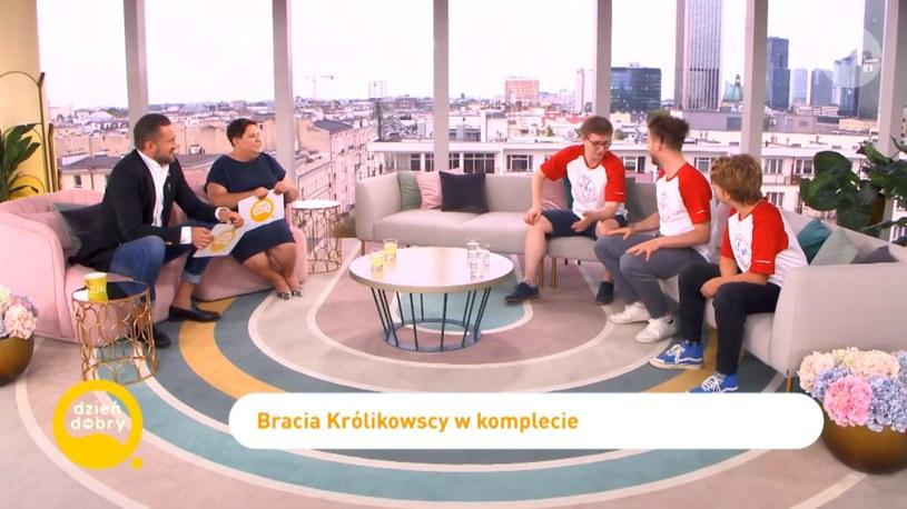Królikowscy w DDTVN, Fot: dziendobry.tvn.pl/ /
