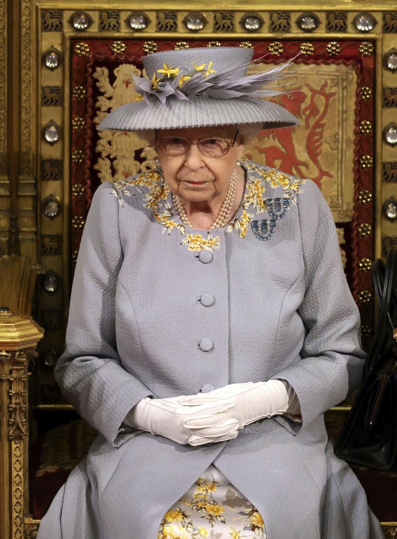 Królowa Elżbieta, 11 maja 2021 /Getty Pool /East News