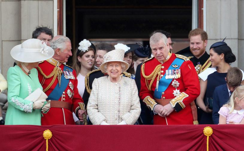 Królowa Elżbieta i Harry spotkali się, aby porozmawiać /Chris Jackson /Getty Images