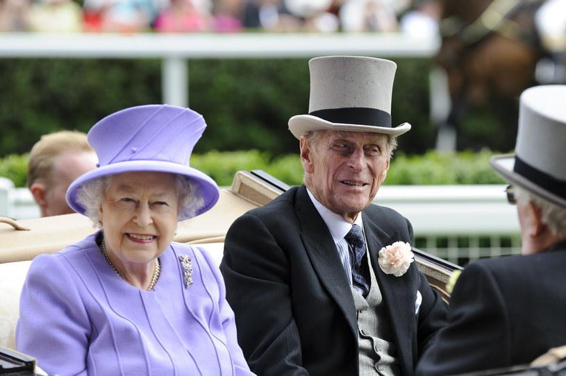 Królowa Elżbieta i książę Filip /Getty Images