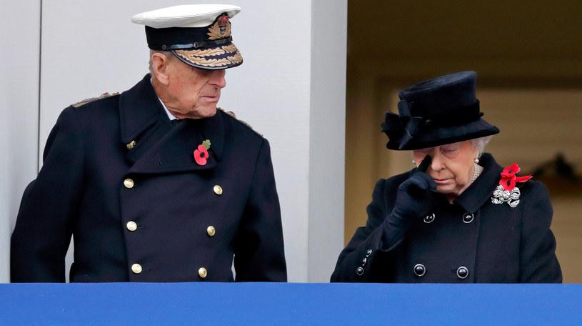 Królowa Elżbieta i książę Filip /Max Mumby/Indigo /Getty Images
