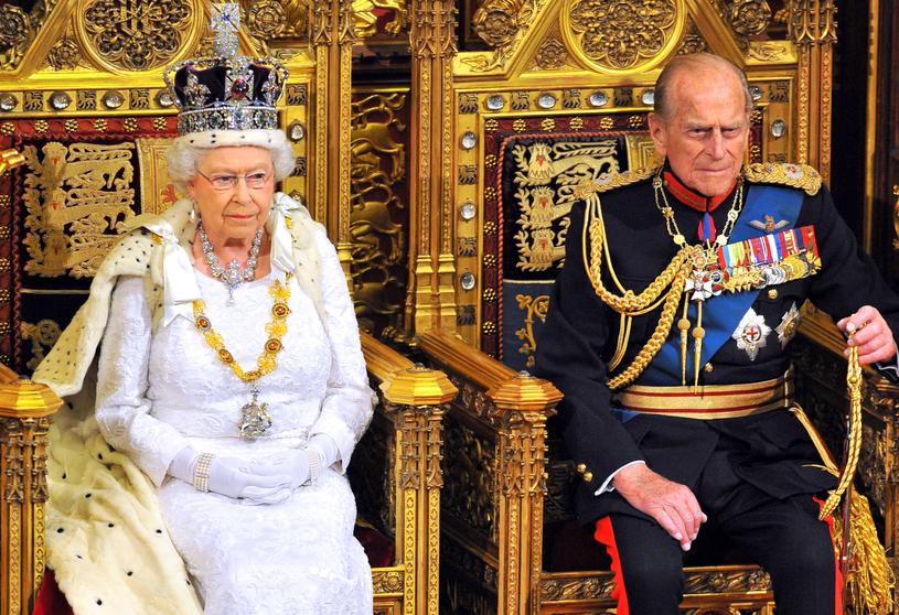 Królowa Elżbieta i książę Filip /WPA Pool /Getty Images