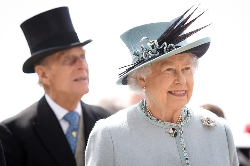 Królowa Elżbieta II i jej mąż, książę Filip /AFP