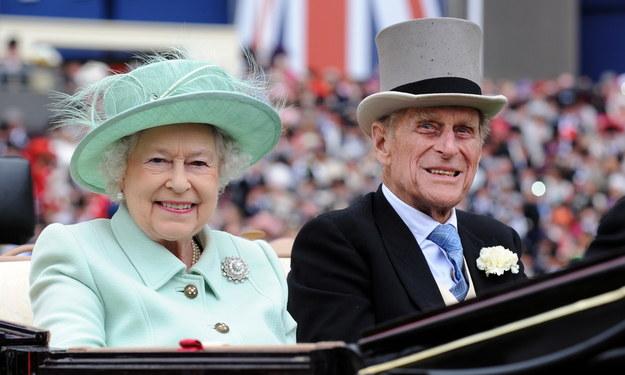 Królowa Elżbieta II i książę Filip, czerwiec 2012 / ANDY RAIN    /PAP/EPA