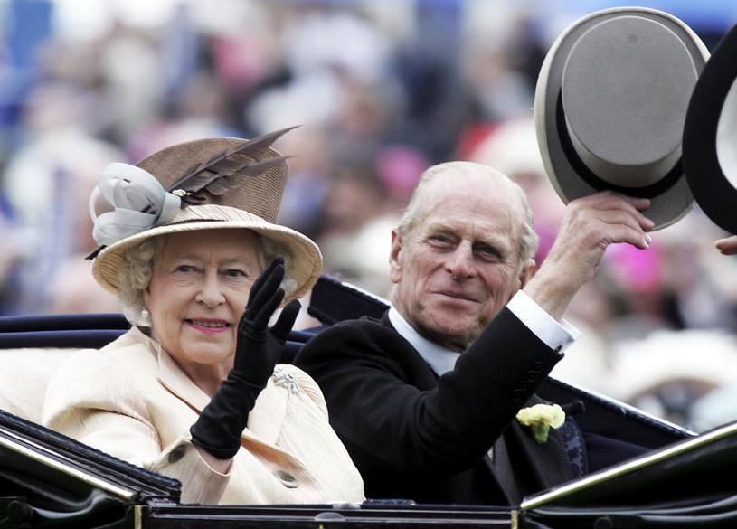 Królowa Elżbieta II i książę Filip /Chris Jackson /Getty Images