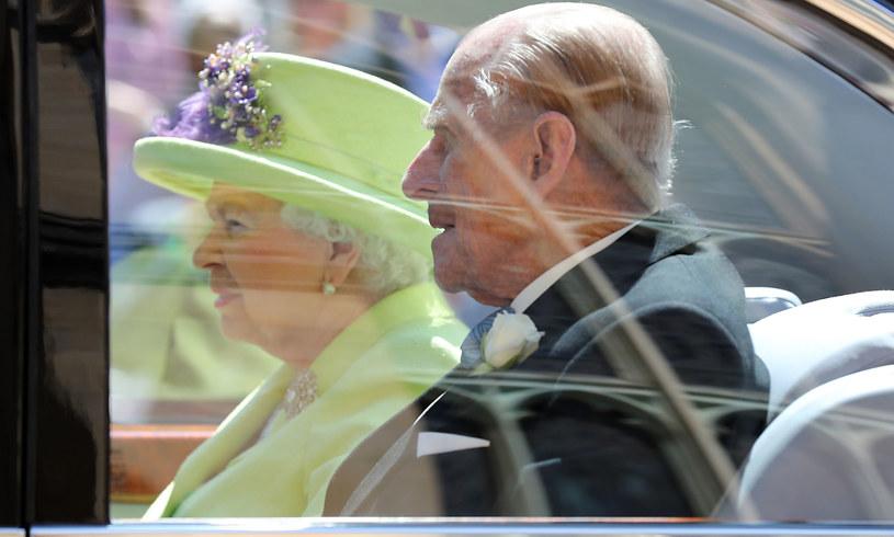 Królowa Elżbieta II i książę Filip /WPA Pool /Getty Images
