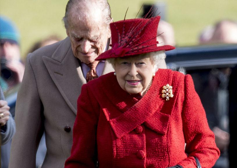 Królowa Elżbieta II i książę Filip /Mark Cuthbert /Getty Images
