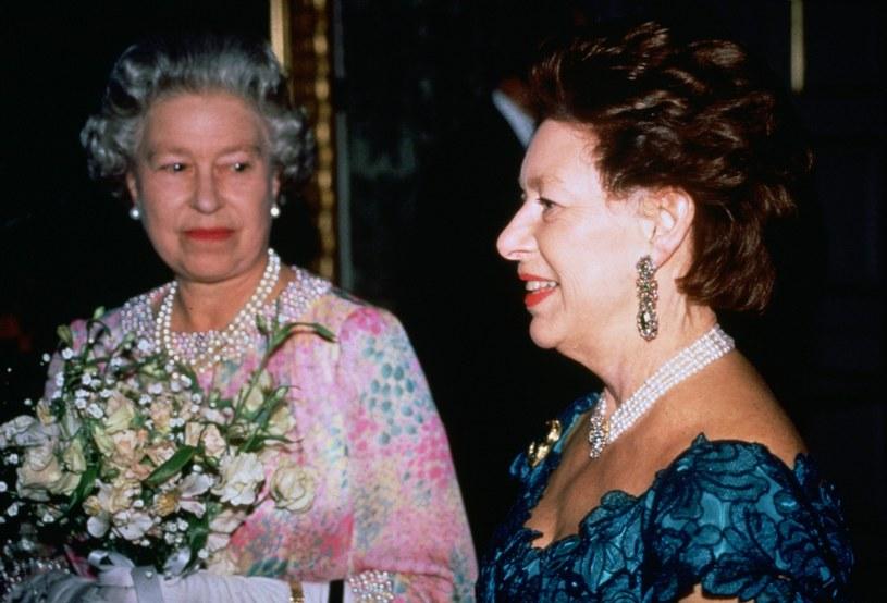 Królowa Elżbieta II i księżniczka Małgorzata /Getty Images