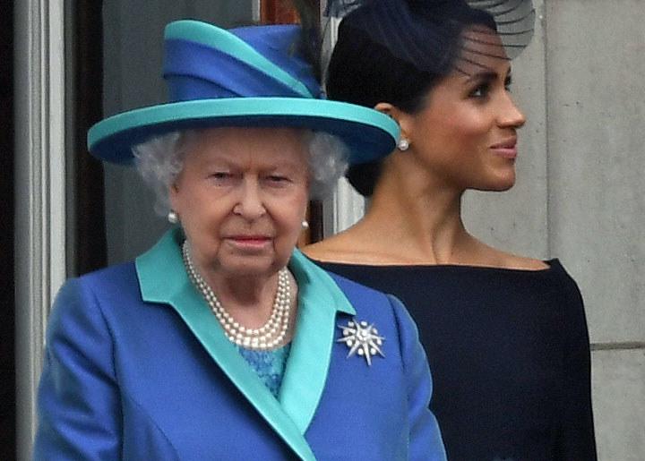 Królowa Elżbieta II i Meghan Markle /Anwar Hussein /Getty Images