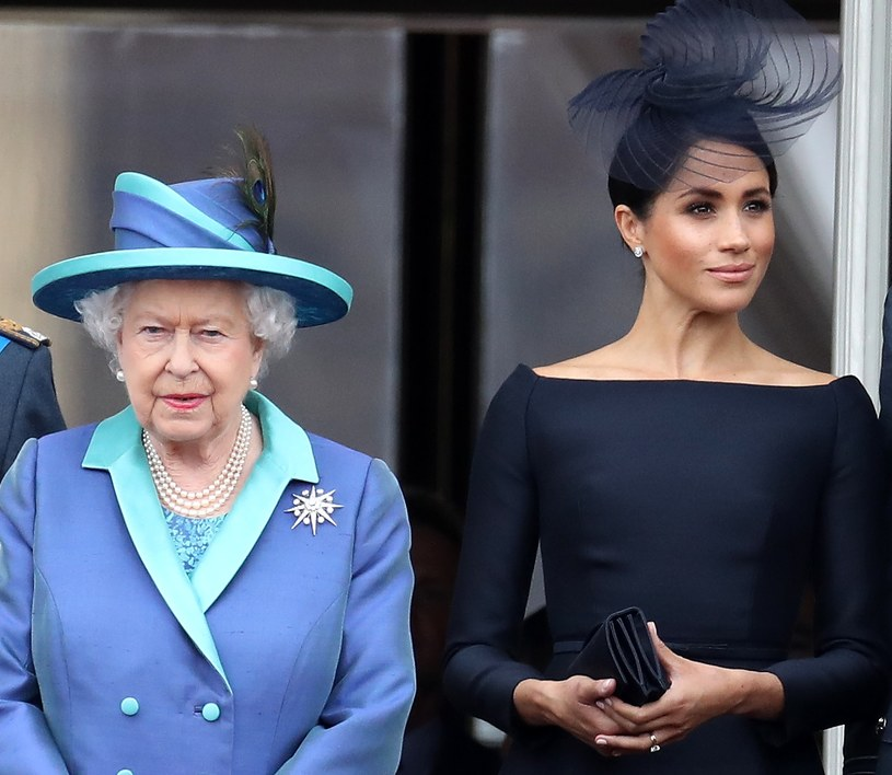 Królowa Elżbieta II i Meghan Markle /Chris Jackson / Staff  /Getty Images