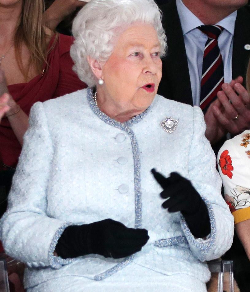 Królowa Elżbieta II na London Fashion Week 2018 /AFP /East News
