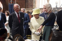"""Królowa Elżbieta II na planie """"Gry o Tron"""""""