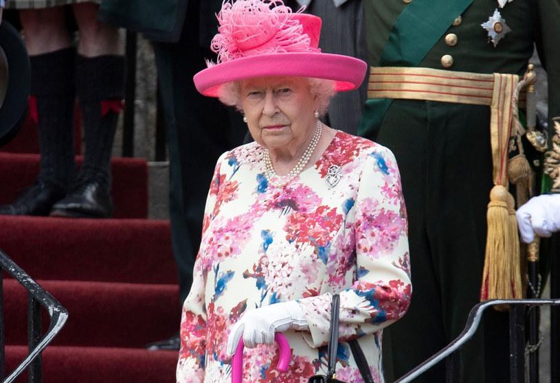 Królowa Elżbieta II podczas wizyty w Szkocji / Jane Barlow /AFP