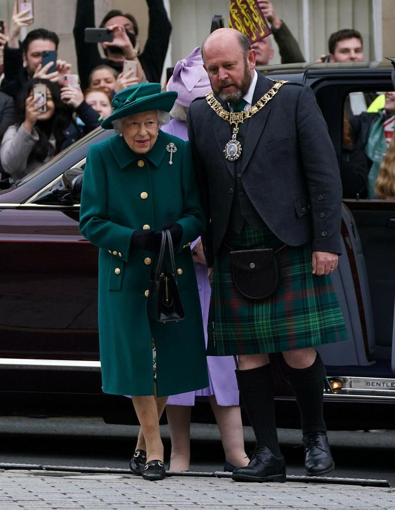 Królowa Elżbieta II uświetniła swoją obecnością otwarcie szkockiego parlamentu /Andrew Milligan/ Press Association /East News