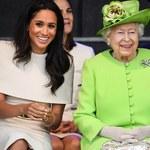 Królowa Elżbieta II wzruszona na wieść o narodzinach córki Meghan Markle i Harry'ego!