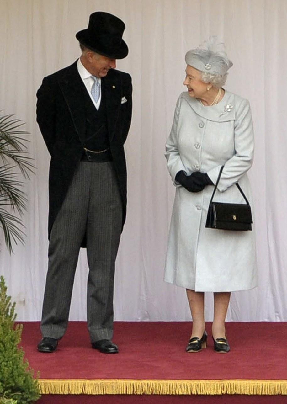 Królowa Elżbieta II z mężem /Photoshot    /PAP