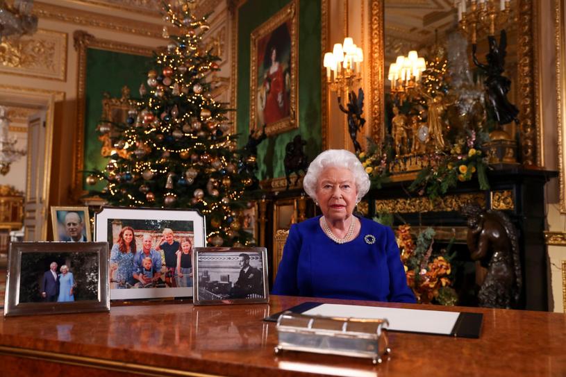 Królowa Elżbieta II - zdjęcie z 24 grudnia 2019 roku /Steve Parsons    /AFP/East News