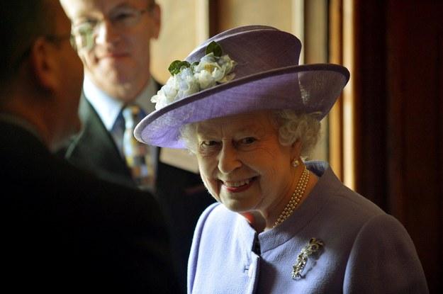 Królowa Elzbieta II /PRESS ASSOCIATION    /PAP/EPA