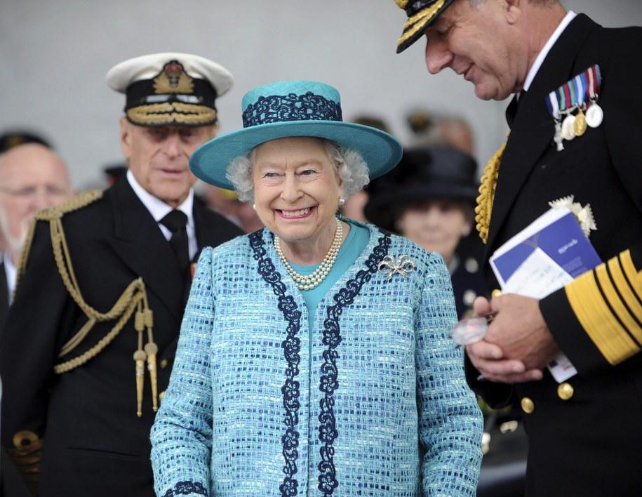 Królowa Elżbieta II /crown copyright reserved    /PAP/EPA