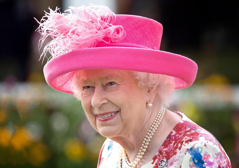 Królowa Elżbieta II / Jane Barlow /AFP
