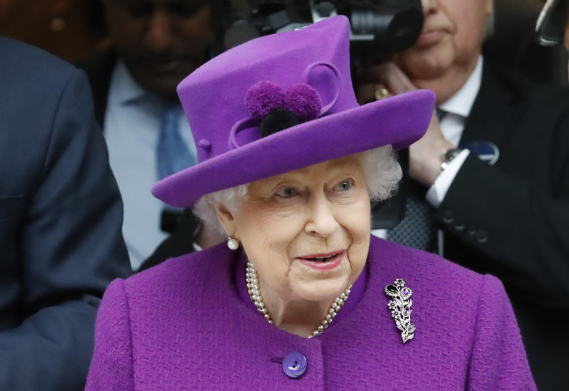 Królowa Elżbieta II /Tolga Akmen /AFP